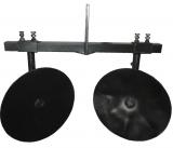 """Окучник дисковий """"∅360мм"""" для мотоблоку (комплект з двох дисків, на поперечній рамі)"""